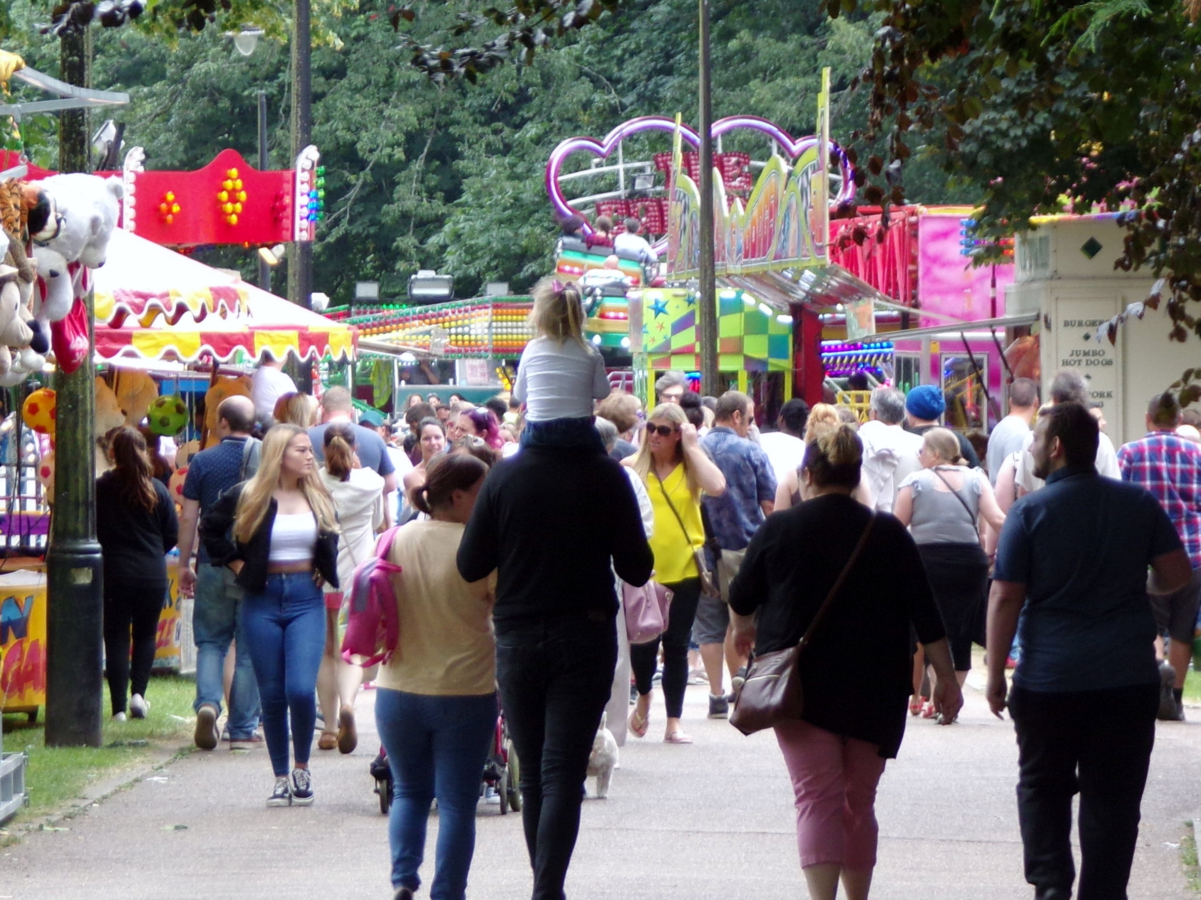 party in the park 2019 fair