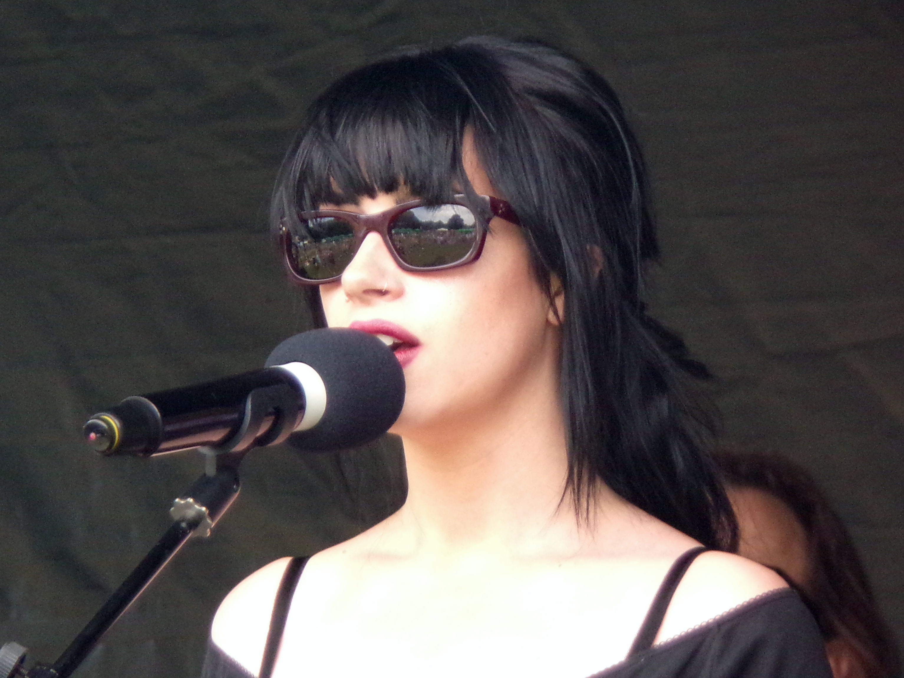 singer with sunglasses 3