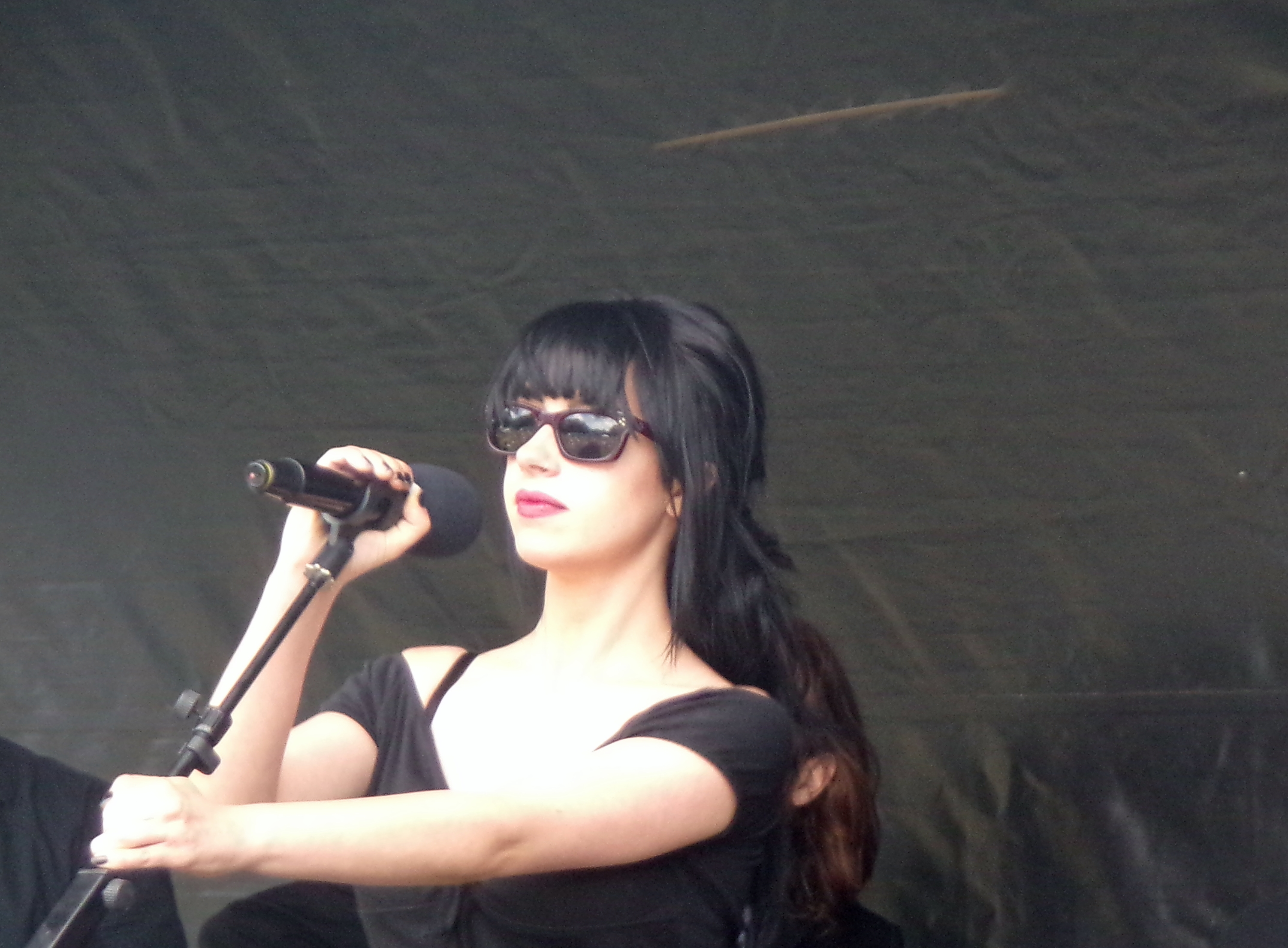 singer with sunglasses 6